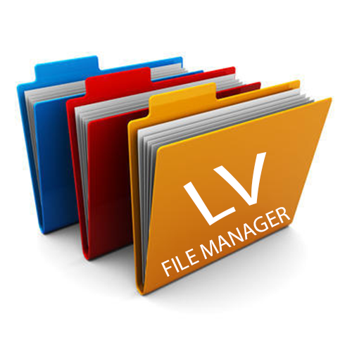 Library Viewer File Manager Logo