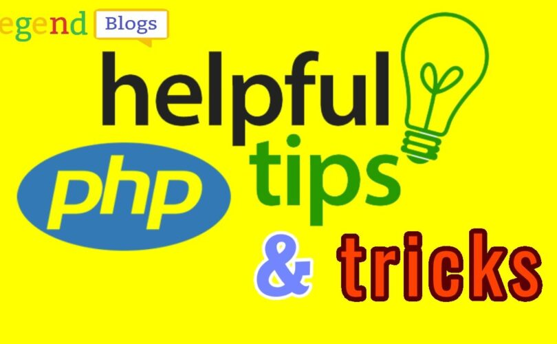 PHP tricks and tips